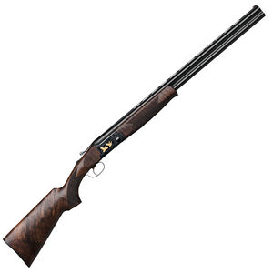 "IFG/F.A.I.R SLX 600 De Luxe Black Over/Under Shotgun .410 Bore 28"" Barrels 3"" Chamber 2 Round Capacity Automatic Ejector Single Selective Trigger Wooden Stock/Forend All Black Finish"