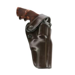 "Galco DOA Belt Holster for S&W K/L Frame w/4"" Barrel  Right Hand Leather Havana"