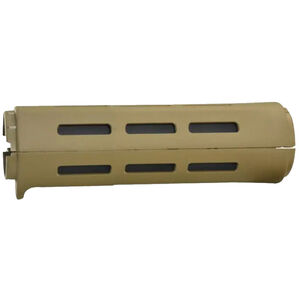 B5 Systems AR-15 Carbine Length Drop-In Style M-LOK Compatible Handguard Polymer Coyote Brown