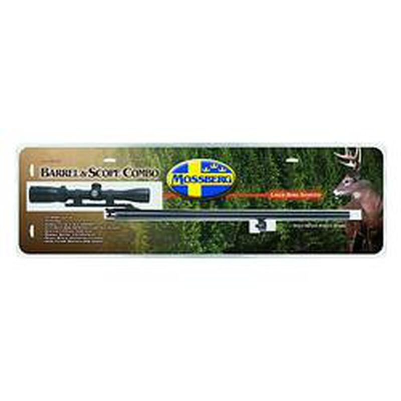 Mossberg Rifled Slug Barrel And Scope Combo For Remington 870 12 Gauge 24