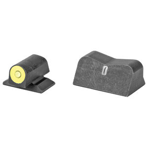 XS Sights DXt2 Big Dot Sights for S&W Bodyguard 380 Yellow Front Sight