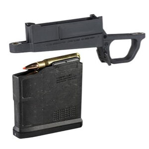 Magpul Bolt Action Magazine Well Kit For Magpul Hunter Remington 700 Stocks Long Action 5 Round Detachable Box Magazine Matte Black