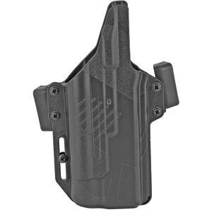 Raven Concealment Perun Glock 19/17 With TLR-1 Belt Holster AMBI Polymer Black
