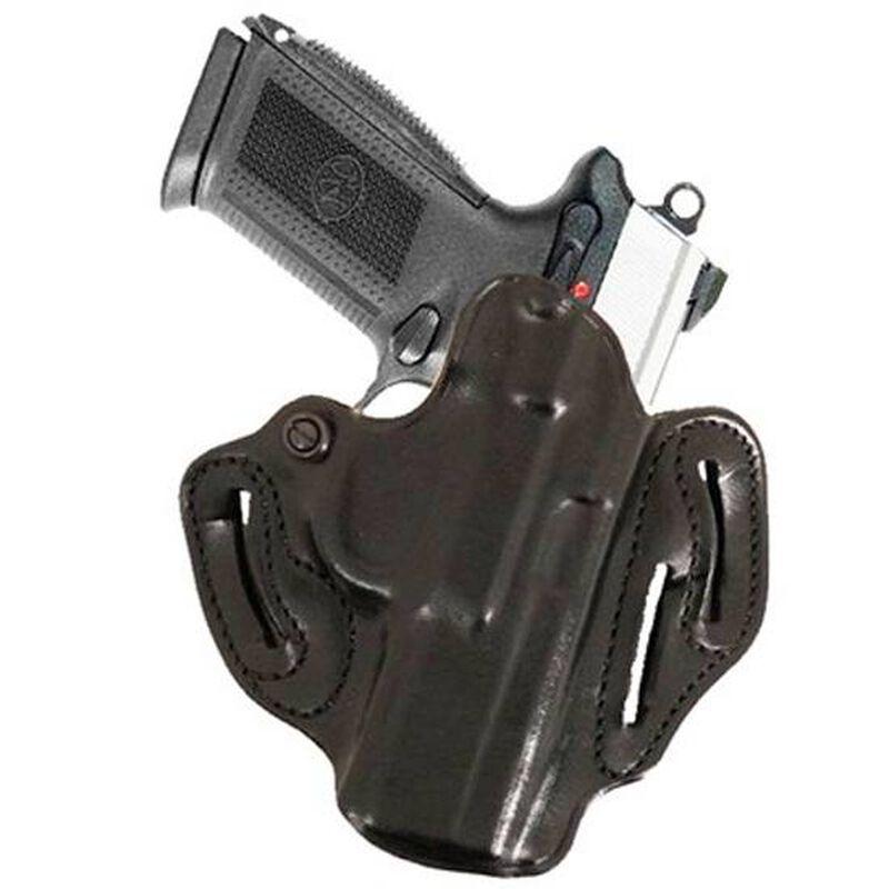 DeSantis Speed Scabbard Belt Holster 1911 Commander Right Hand Leather Black 002BA20Z0