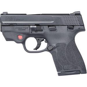 "S&W M&P9 Shield M2.0 Integrated Crimson Trace Red Laser 9mm Semi Auto Pistol 3.1"" Barrel 8 Rounds Thumb Safety Black"