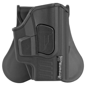 Bulldog Rapid Release For Sig P365 Paddle Holster Right Hand Polymer Black