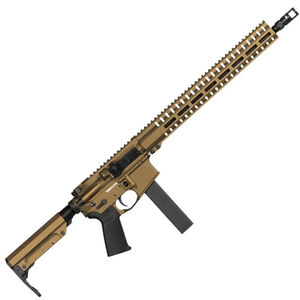 "CMMG Resolute 300 Mk9 Series 9mm Luger AR15 Style Semi Auto Rifle 16"" Barrel 32 Rounds CMMG RML15 M-LOK Hand Guard Cerakote Burnt Bronze"