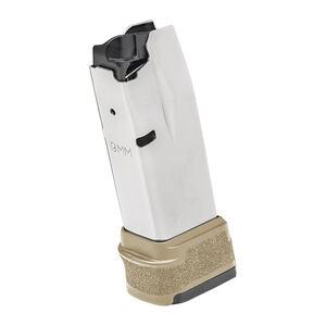 Springfield Armory Hellcat Magazine 9mm Luger 15 Rounds FDE Polymer Base Plate