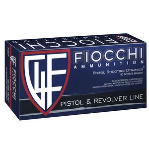 Fiocchi .40 S&W 165 Grain FMJ 50 Round Box 1020 fps