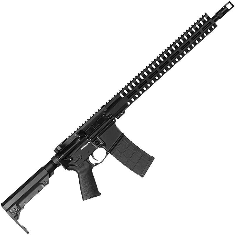"CMMG Resolute 300 Mk4 9mm Luger AR-15 Semi Auto Rifle 16"" Barrel 30 Rounds Uses ARC Magazines RML15 M-LOK Handguard RipStock Collapsible Stock Graphite Black Finish"