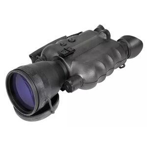 AGM Global Vision Foxbat-5 NW3 Night Vision Bi-ocular Gen 2+ 5x Magnification White Phosphor Level 3 108mm Lens Matte Black