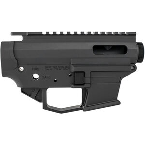 Angstadt Arms 1045 Pistol Caliber AR-15 Upper/Lower Receiver Set .45 ACP/.10mm Auto Billet Aluminum Accepts GLOCK Style Magazines Black Finish