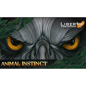 Liberty Animal Instinct .300 Blackout Ammunition 20 Rounds 96 Grain Lead Free Copper HP 2500fps