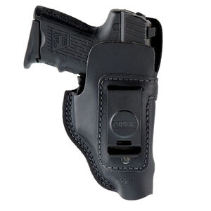 Aker Leather Model 134 Spring Special IWB Holster For P365 Right Hand Leather Black