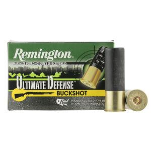 """Remington Ultimate Defense 12 Gauge Ammunition 5 Rounds 3"""" 00 Buck 15 Pellets 12HB00HD"""