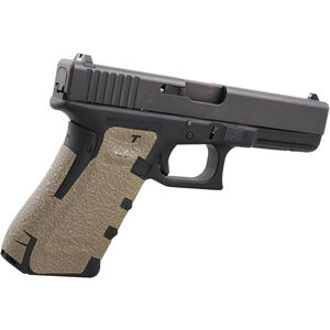 Talon Grips Grip Wrap GLOCK Gen4 17/22/24/31/34/35/37 Medium Back Strap Rubber Texture Moss