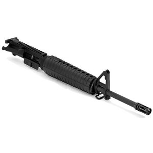 """Spike's Tactical ST-15 Enhanced Complete AR-15 Upper Assembly 5.56 NATO 16"""" CHF Barrel A2 Front Sight Black"""