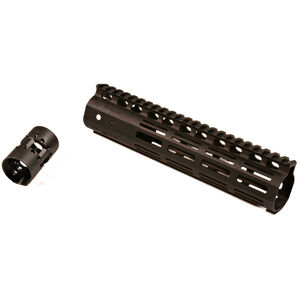 "Noveske NSR AR-15 9"" Free Float M-LOK Rail 1913 Picatinny Continuous Top Rail Aluminum Hard Coat Anodized Matte Black"