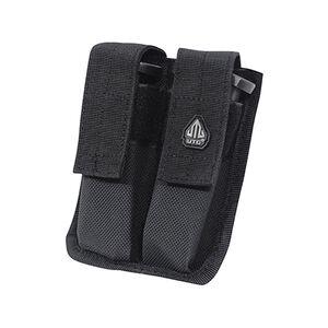 UTG Dual Pistol Mag Pouch, Black