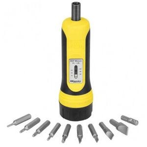 Wheeler FAT Wrench 10 Piece Bit Set 10-65 Inch Pounds Torque 553556