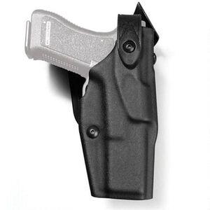 Safariland ALS/SLS Mid-Ride Level III Duty Holster For GLOCK 17/19 Right Hand Polymer Black 6360-83-131