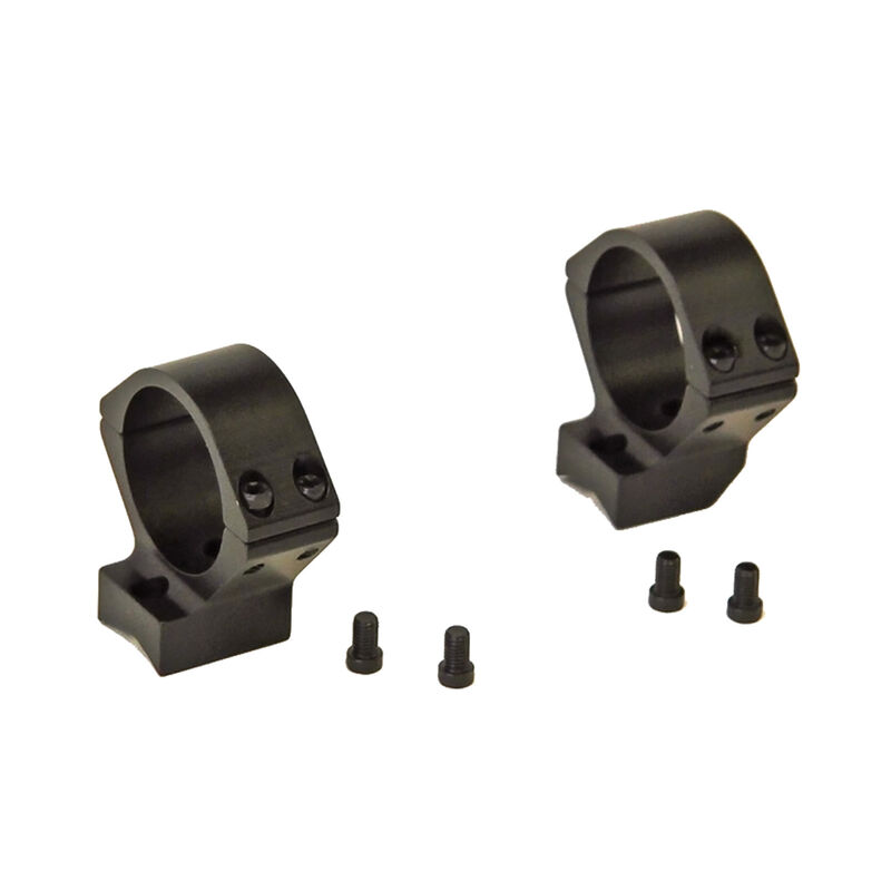 Talley Manufacturing Barrett Fieldcraft Lightweight Alloy Scope Mounts 30mm Rings Low Height Black Anodized Finish