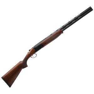 """Savage Stevens 555 Compact Over/Under Shotgun 20 Gauge 24"""" Barrels 2 Rounds Walnut Stock Matte Black"""