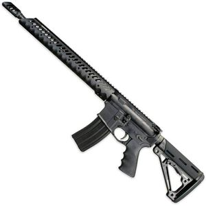 """Windham Weaponry 300 Blackout Semi Auto Rifle 16"""" Barrel 30 Rounds Diamondhead Forend Hogue Stock and Grip Black"""