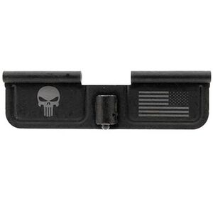 Spike's Tactical AR-15 Ejection Port Door Cover Punisher Steel Black SED7005