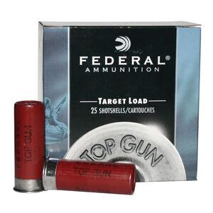 "Federal Ammunition Top Gun Target 12 Gauge 2.75"" #8 Lead Shot 1 Oz   25 Rounds 1250fps"