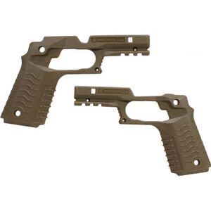 Recover Tactical 1911 CC3H Grip and Rail System Polymer Tan