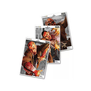 "Champion VisiColor Zombie Attack Variety 12""x18"" Target 6 Pack 46052"