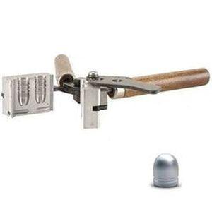 "Lee Precision .365"" Diameter 95 Grain Round Nose Bullet Double Cavity Mold Aluminum With Handles 90466"