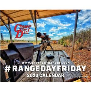 Cheaper Than Dirt! Range Day Friday 2020 Calendar