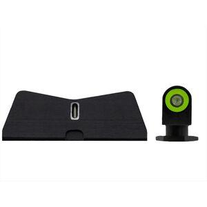 XS Sights DXT2 Standard Dot Standard Height Sights for Glock 42/43/43X & 48 Green Front Sight