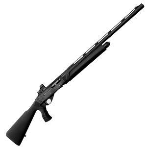 "EAA GiRSAN MC312 Sport 12 Gauge Semi Auto Shotgun 24"" Barrel 3"" Chamber 5 Rounds Inertia Driven Red Dot Sight System Synthetic Pistol Grip Stock Matte Black"