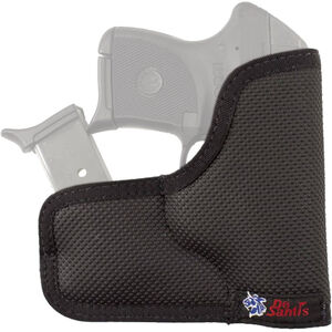 DeSantis Ammo Nemesis Ruger LCP/Kel-Tec P3AT with Laser Pocket Holster with Magazine Pouch Ambidextrous Synthetic Rubberized Fabric
