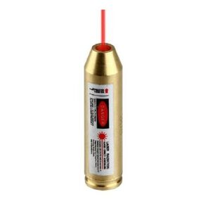 JE Machine Laser Boresighter .308 Brass