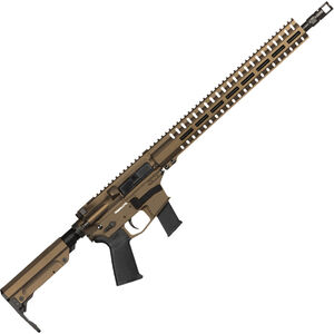 "CMMG Resolute 300 MkG .45 ACP AR-15 Semi Auto Rifle 16"" Barrel 13 Rounds Uses GLOCK Style Magazines RML15 M-LOK Handguard RipStock Collapsible Stock Midnight Bronze Finish"