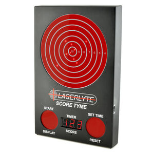 "LaserLyte Trainer Score Tyme Trainer Target 3 Digit LED Display 13"" Polymer Housing Matte Black TLB-XL"