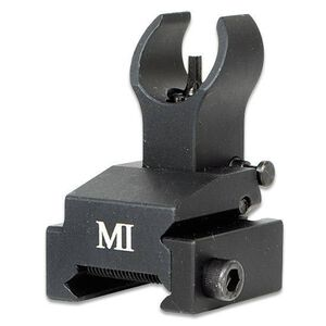 Midwest Industries AR15 BUIS Flip Up Front Sight Picatinny Rail Mount Black MCTAR-FFR
