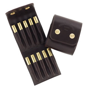 Galco Stalker Ammo Wallet .300 Winchester Magnum Rounds and Similar Leather Dark Havana