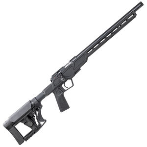 "CZ 457 Varmint Precision Chassis .22 Long Rifle Bolt Action Rifle 16.5"" Threaded Barrel 5 Rounds Aluminum Chassis Matte Black"