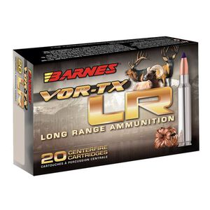 Barnes 7mm Remington Magnum Ammunition 20 Rounds Lead Free LRX 139 Grains