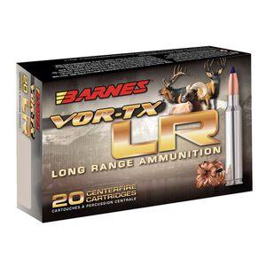 Barnes VOR-TX Long Range .300 Remington Ultra Magnum Ammunition 20 Rounds 190 Grain LRX Boat Tail Lead Free 3125fps