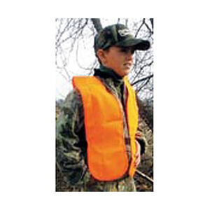 Hunter's Specialties Youth Safety Vest Blaze Orange