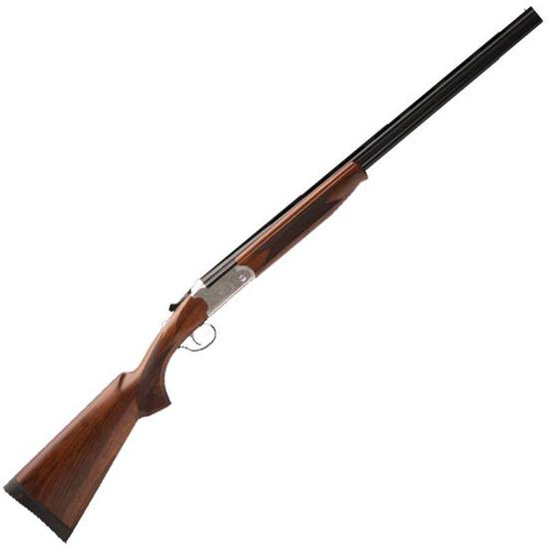 "Savage Stevens Model 555 Enhanced Over/Under Shotgun .410 Bore 26"" Barrels 2 Rounds Silver Receiver Imperial Walnut Stock"