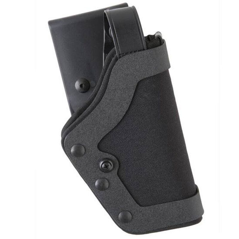 "Uncle Mike's PRO-3 S&W 9/40, Sub Compact .45 3.5"" to 4"" Barrel Duty Holster Right Hand Size 18 Kodra Nylon Black 35181"