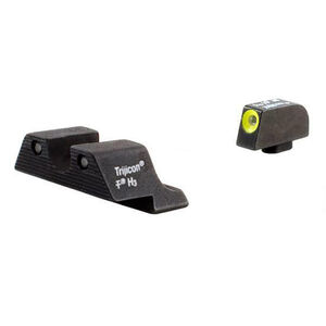 Trijicon HD Tritium Sights For GLOCK Yellow Outline Green Front Sight Green Rear Three Dot Sights GL104Y