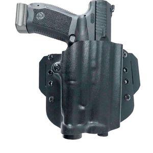 Canik 9mm OWB Open End Light Model Holster for Streamlight TLR1